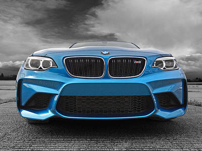 Photograph - Bmw M2 Coming At You by Gill Billington