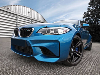 Photograph - Bmw M2 Coupe by Gill Billington