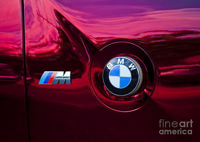 Bmw M3 Badges Art Print