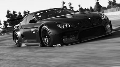Photograph - Bmw M6 Gt3 - 11  by Andrea Mazzocchetti