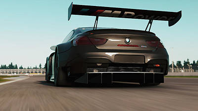 Photograph - Bmw M6 Gt3 - 20 by Andrea Mazzocchetti