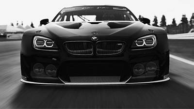 Photograph - Bmw M6 Gt3 - 25 by Andrea Mazzocchetti
