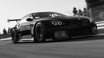 Photograph - Bmw M6 Gt3 - 29 by Andrea Mazzocchetti