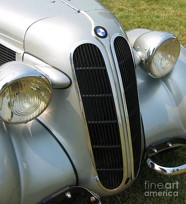 Photograph - BMW by Neil Zimmerman
