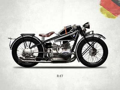 Photograph - Bmw R47 1927 by Mark Rogan