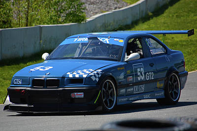 Photograph - Bmw Racing 53 by Mike Martin