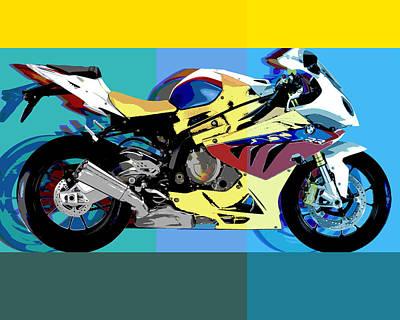 Bmw-s1000rr Art Print