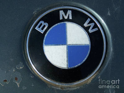 Photograph - BMW by Tony Baca