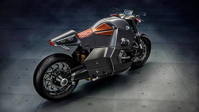 Bmw Urban Racer  Future Bike  Art Print
