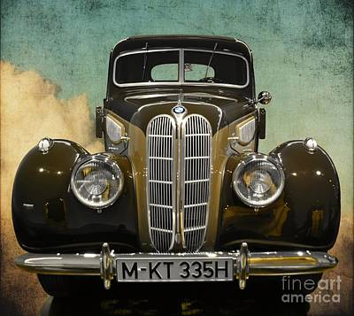 Dream Cars Photograph - Bmw Vintage Dream Car by Mary Machare