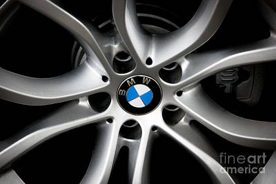 Photograph - Bmw Wheel by Dale Powell