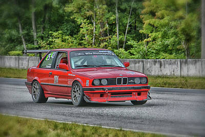 Photograph - Bmw Wile Motorsports by Mike Martin