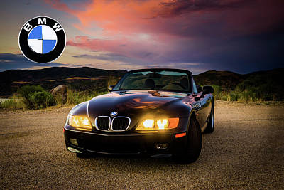 Photograph - Bmw Z3 - Roundel by TL Mair