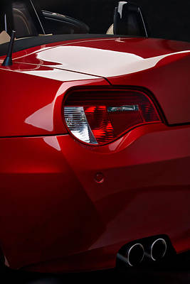 Car Photograph - Bmw-z4 Rear Close Up by Laszlo Toth