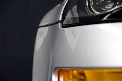 Photograph - Bmw Z8 Roadster Front Corner Profile by ISAW Company