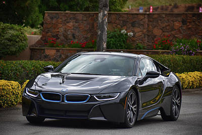 Photograph - Bmwi8 by Bill Dutting