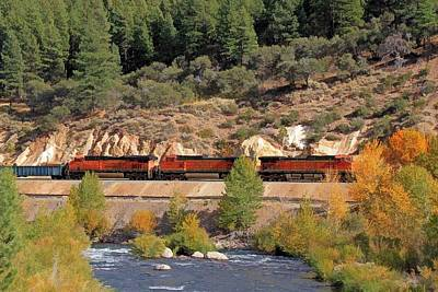 Photograph - Bnsf 4515 by Donna Kennedy