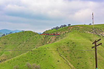 Photograph - Bnsf7492 2 by Jim Thompson
