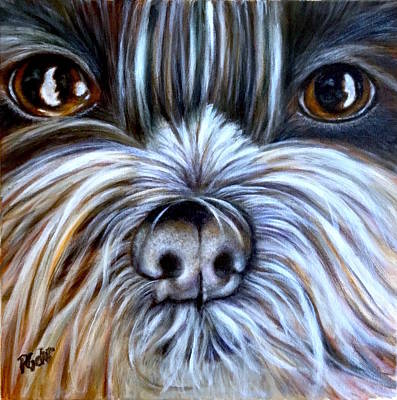 Painting - Bo by Dr Pat Gehr