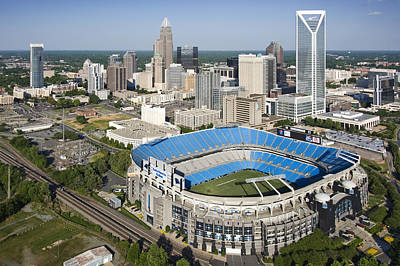Boa Stadium In Charlotte Print by Clear Sky Images