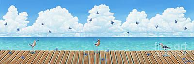 Painting - Board Meeting by Elisabeth Sullivan