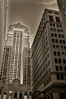 Historic Chicago Photograph - Board Of Trade by Anthony Citro