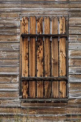 Photograph - Boarded Window by Mark Harrington