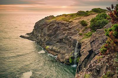 Photograph - Boardman Waterfall by Leland D Howard