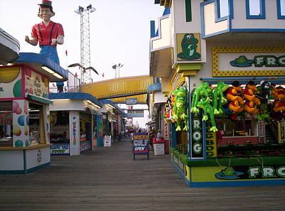 Boardwalk At Seaside New Jersey  Original by Bob Palmisano
