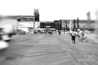 Photograph - Boardwalk Blur by John Rizzuto