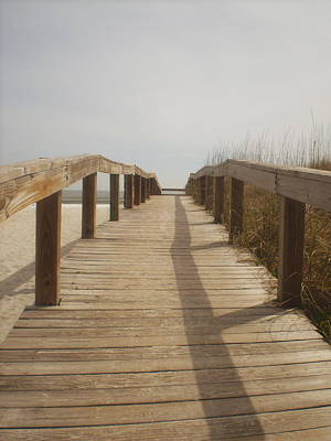 Photograph - Boardwalk by Utopia Concepts