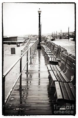 Photograph - Boardwalk Centered by John Rizzuto