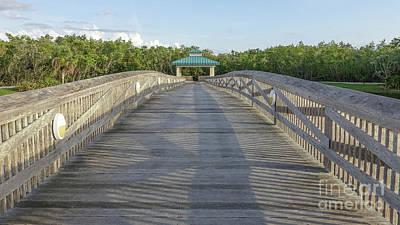 Photograph - Boardwalk by Edward Fielding