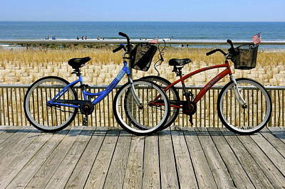 Photograph - Boardwalk His And Hers by My Lens and Eye   - Judy Mullan -