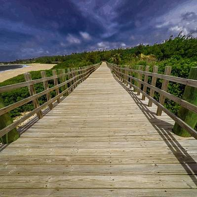 Wall Art - Photograph - Boardwalk In Color by Giovanni Arroyo