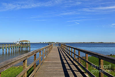 Photograph - Boardwalk by Jill Lang
