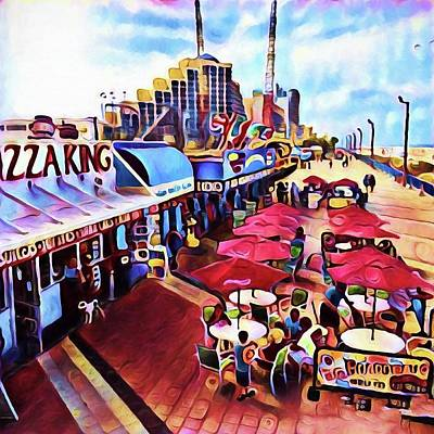 Photograph - Boardwalk King by Alice Gipson