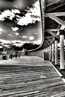 Boardwalk Art Print by Laura DAddona