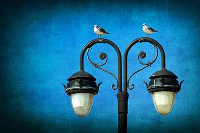 Photograph - Boardwalk Lights by Carolyn Derstine