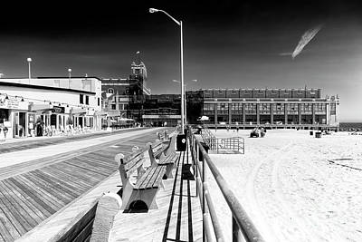 Photograph - Boardwalk Lines by John Rizzuto