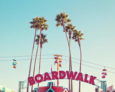 Photograph - Boardwalk by Melanie Alexandra Price