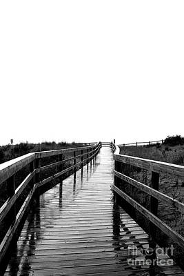 Photograph - Boardwalk Off The Earth by Nina Silver