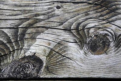 Photograph - Boardwalk Patterns 2 by Mary Bedy