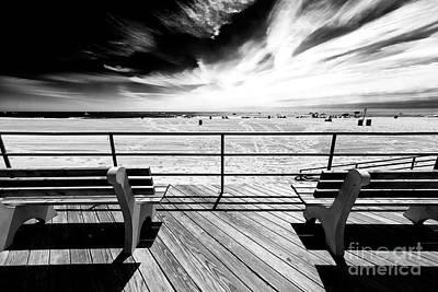 Photograph - Boardwalk Shadows by John Rizzuto