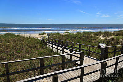Photograph - Boardwalk To The Beach by Jill Lang