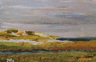 Painting - Boardwalk View by Michael Helfen