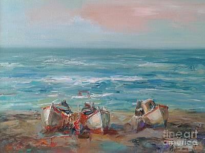 Painting - Boast by Angelina Nedin