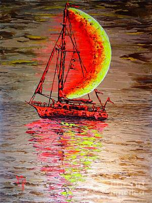 Painting - Boat #2 by Viktor Lazarev
