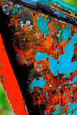 Boat Abstract Original by Craig Perry-Ollila