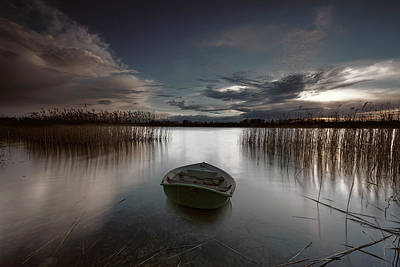 Photograph - Boat Adrift by Daniel Hagerman